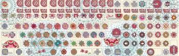 Декоративные наклейки на клавиатуру Мандалы