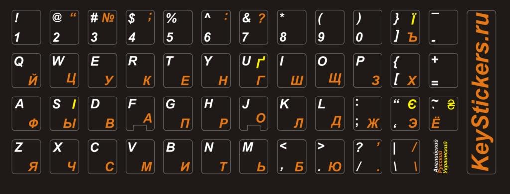 Буквы на клавиатуре своими руками 85