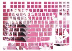 Наклейки декоративные на клавиатуру Мишки