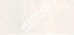 Матовые прозрачный  фон белые  русские буквы