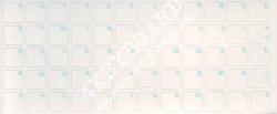 Глянцевые прозрачный  фон голубые  русские буквы