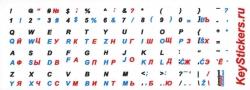 Словенский, английский, русский языки на белой основе
